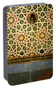 Moroccan Water Fountain Portable Battery Charger
