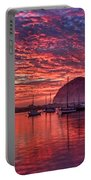 Morro Bay On Fire Portable Battery Charger