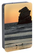 Morro Beach Sunset Portable Battery Charger