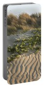 Morro Beach Textures Portable Battery Charger