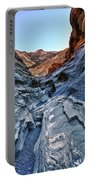 Mosaic Canyon In Death Valley Portable Battery Charger