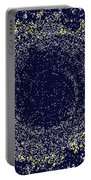 Mosaic Galaxy Midnight Blue Portable Battery Charger