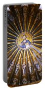 Mosaic Of Christ Pantocrator Portable Battery Charger