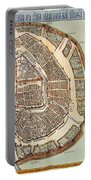 Moscow: Map, 1662 Portable Battery Charger