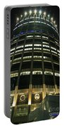Moscow Skyscraper Night Portable Battery Charger