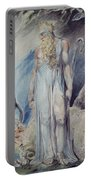 Moses And The Burning Bush Portable Battery Charger