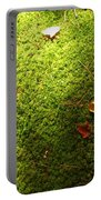 Moss And Leaves Portable Battery Charger