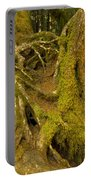 Moss-covered Tree Trunks  Portable Battery Charger