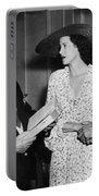 Moss Hart And Kitty Carlisle Portable Battery Charger