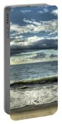 Moss Landing In The Clouds Portable Battery Charger