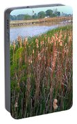Moss Landing Washington North Carolina Portable Battery Charger by Joan Meyland