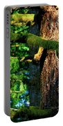 Moss On The Evergreens Portable Battery Charger