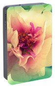 Moss Rose Abstract Portable Battery Charger