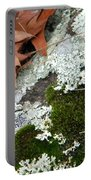 Mossy Leaves Portable Battery Charger