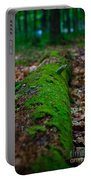 Mossy Log Portable Battery Charger