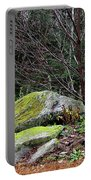 Mossy Rocks Garden Portable Battery Charger