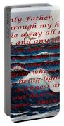 Most Powerful Prayer With Ocean Waves Portable Battery Charger