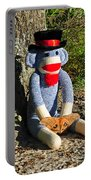 Monkey And Moth Portable Battery Charger