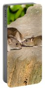 Mother Rat With Youngster Portable Battery Charger