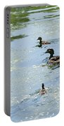 Mother Wood Duck Portable Battery Charger