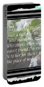Mother's Day Greeting And Angel Portable Battery Charger