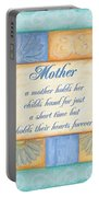Mother's Day Spa Portable Battery Charger by Debbie DeWitt
