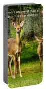 Mother's Protection Portable Battery Charger