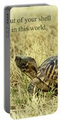 Motivating A Turtle Portable Battery Charger by Robert Frederick