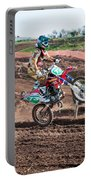 Motocross Rider Portable Battery Charger