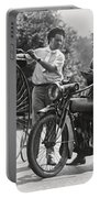Motorcycle And Velocipede - 1921 Portable Battery Charger