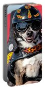 Motorcycle Chihuahua Portable Battery Charger