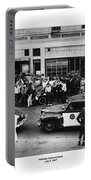 Motorcycle Rally Hollister California July 4, 1947 Portable Battery Charger