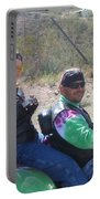 Motorcyclists Helldorado Days Parade Tombstone Arizona 2004 Portable Battery Charger