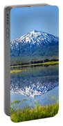 Mount Bachelor Reflection Portable Battery Charger