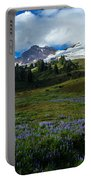 Mount Baker Lupine Meadows Portable Battery Charger