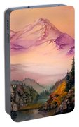 Mount Baker Morning Portable Battery Charger