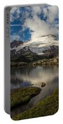 Mount Baker Skies Reflection Portable Battery Charger