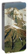 Mount Blanc Mountains Portable Battery Charger