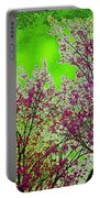 Mount Fuji In Bloom Portable Battery Charger