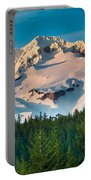 Mount Hood Winter Portable Battery Charger