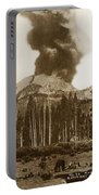 Mount Lassen Volcano California 1914 Portable Battery Charger