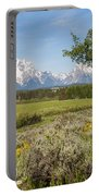 Mount Moran View Portable Battery Charger by Brian Harig