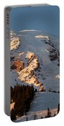 Mount Rainier Alpenglow Portable Battery Charger