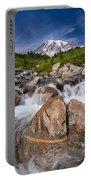 Mount Rainier Glacial Flow Portable Battery Charger