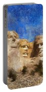 Mount Rushmore Monument Photo Art Portable Battery Charger
