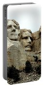 Mount Rushmore Presidents Portable Battery Charger