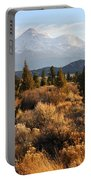 Mount Shasta In The Fall  Portable Battery Charger by Gary Whitton