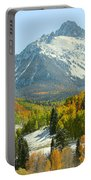 Mount Sneffels In Ridgway Colorado Portable Battery Charger