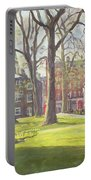 Mount Street Gardens, London Oil On Canvas Portable Battery Charger
