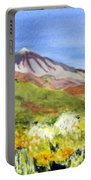Mount Tiede In Tenerife Portable Battery Charger